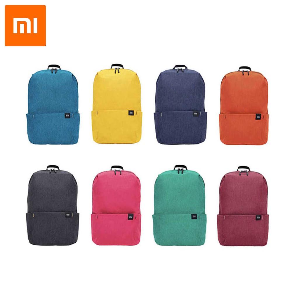 Waterproof 10L 8 Colors Travel Business Bag Knapsack Xiaomi Backpack