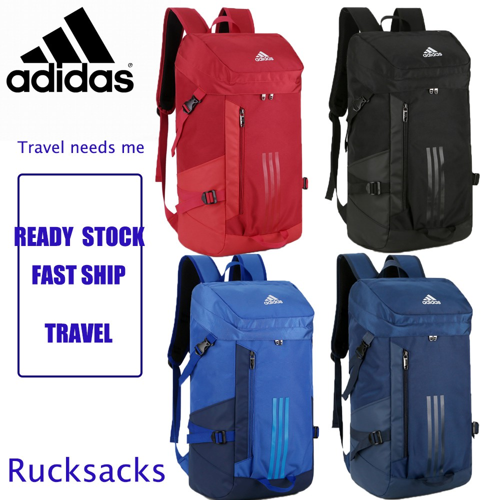 0e577edf17  READY Stock Adidas School Laptop Travel Men Backpack