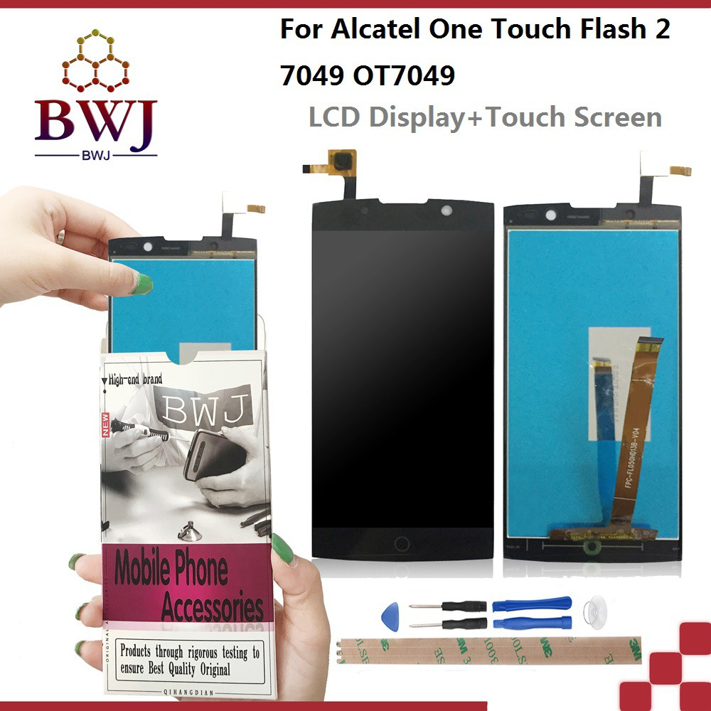 For Alcatel One Touch Flash 2 OT7049 LCD display +Touch Screen