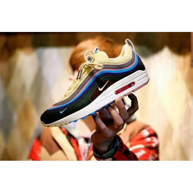 87b3d93f5a5 Sean Wotherspoon x Air Max 1/97 VF SW Hybrid runningshoes