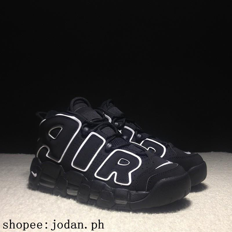 sports shoes daede dbb60 Nike Air More Uptempo OG Nike basketball shoes Nike black an