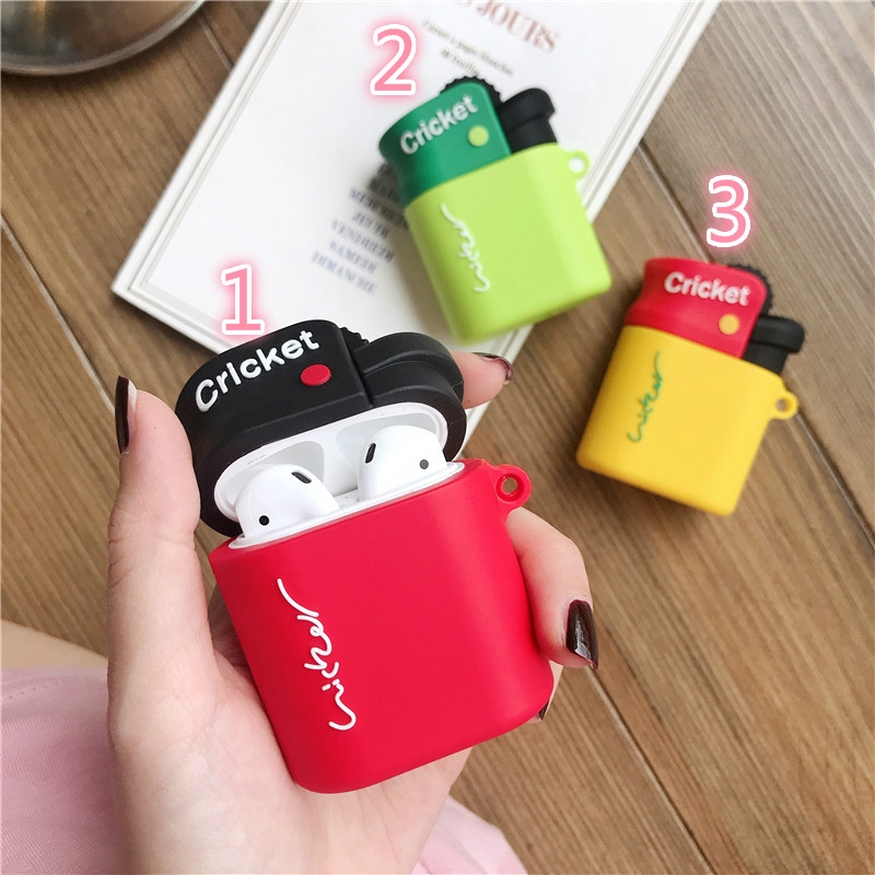 AirPods 1/2 earphone set fashion personality lighter wireless Bluetooth headset hot sale set
