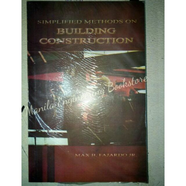 Simplified Methods on Building Construction by Fajardo