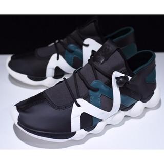96d50594566e0 Adidas Y-3 Spring Kyujo Low Black and White Yohji Yamamoto BB4737