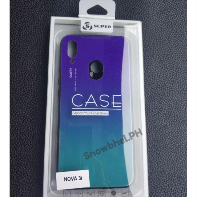 brand new 74895 efb90 Huawei Nova 3i Aurora Gradient Mirror Series Case