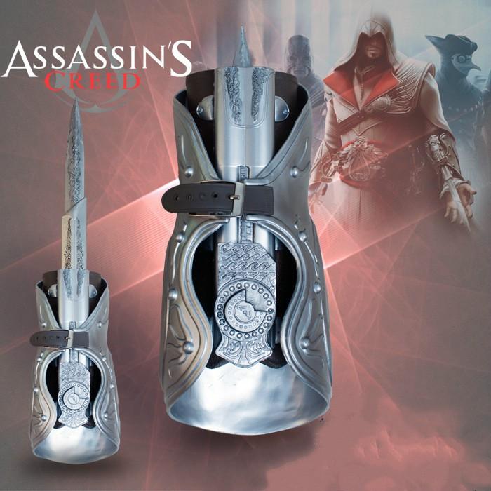 Assassins Creed Hidden Blade Brotherhood Ezio Cosplay Toys Shopee Philippines