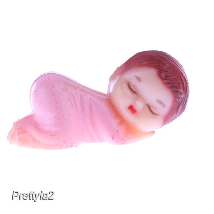 24pcs Mini Sleeping Babies Baby Shower Christening Party Gift Favor Table Decor