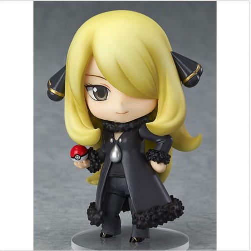 Cute Nendoroid Pokemon Shirona Garchomp #507 PVC Action Figure Toy