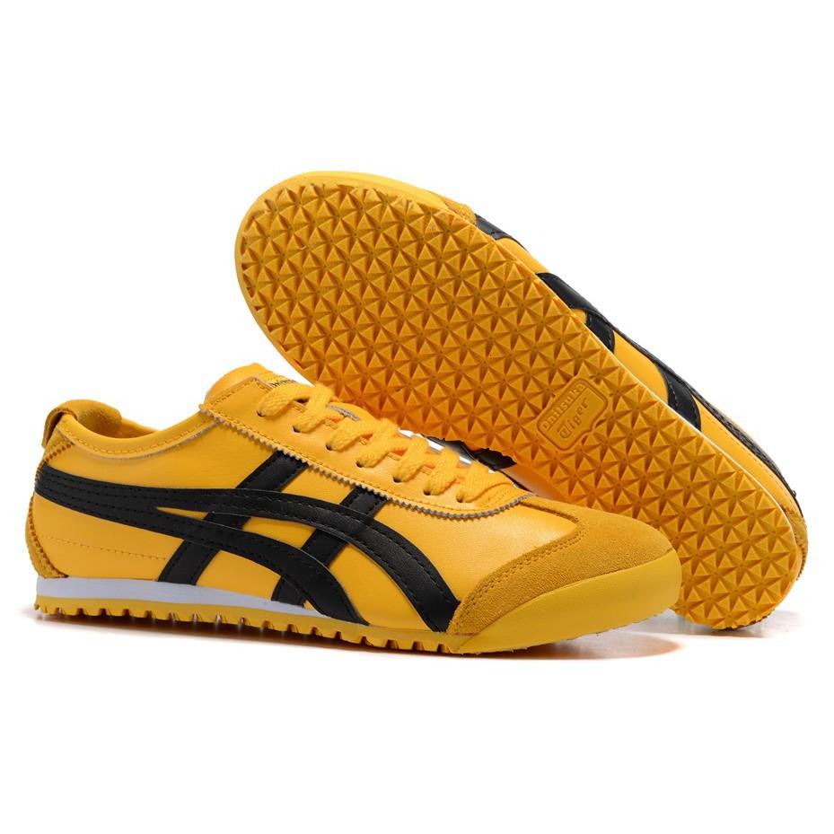 onitsuka tiger mexico 66 yellow black womens trainers nike