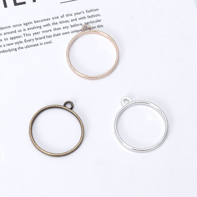 10pcs Star UV Resin Frame Pendant Hollow Charm Making Setting Jewelry Blank