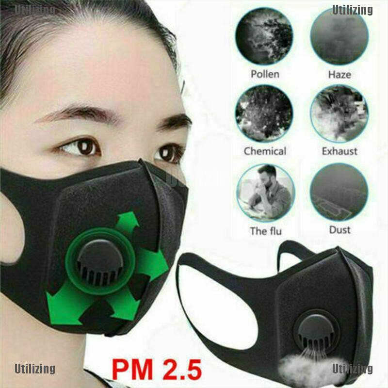 Half Face Mouth Muffle with Carbon Safety Dust Filer,Face Cover Protective Balaclava Anti Air Pollution