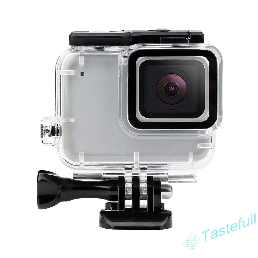 Waterproof Housing Case for Gopro Hero 7 Silver//White Updated Version Protective Rotective Underwater Dive Case Cover for Go Pro Hero 7 Silver /& White