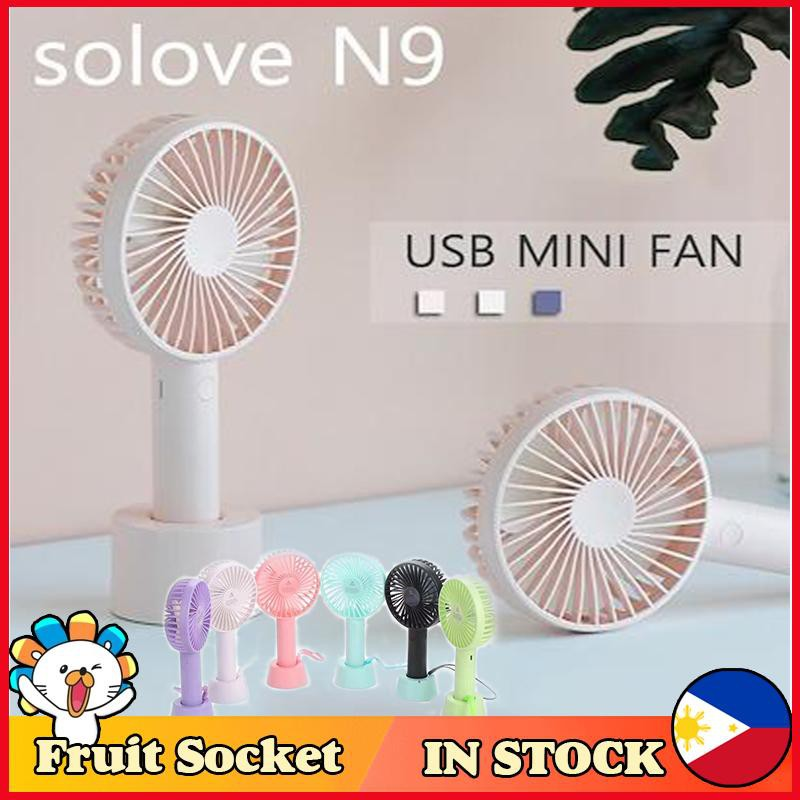 Mini portable pocket fan cool air hand held battery holiday blower cooler SA