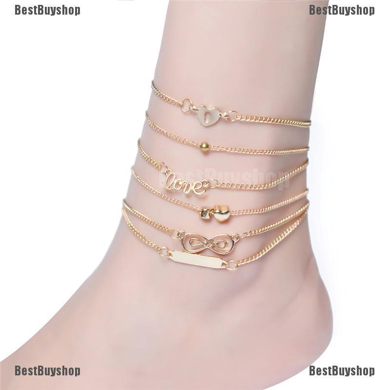 Infinity Anklet Foot Chain Ankle