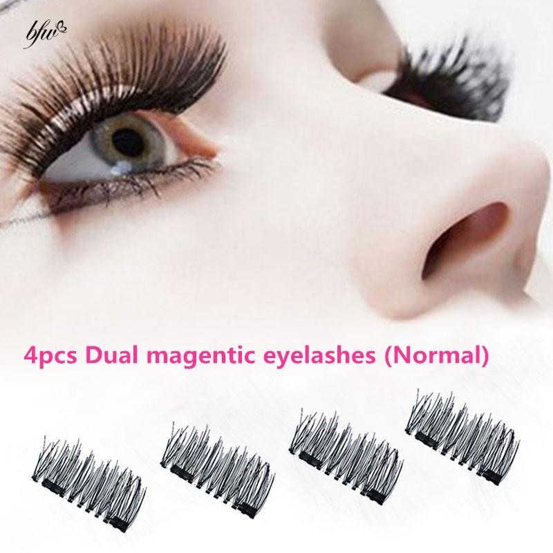 385183ffccd BD 4Pcs 3D Magnetic False Eyelash Buckle Magnet Fake Eyelash | Shopee  Philippines