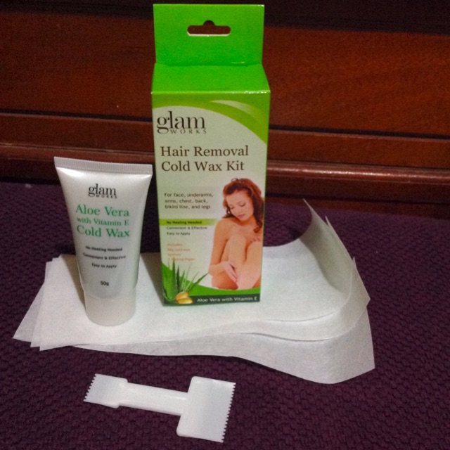 Glam Hair Removal Cold Wax Kit Shopee Philippines