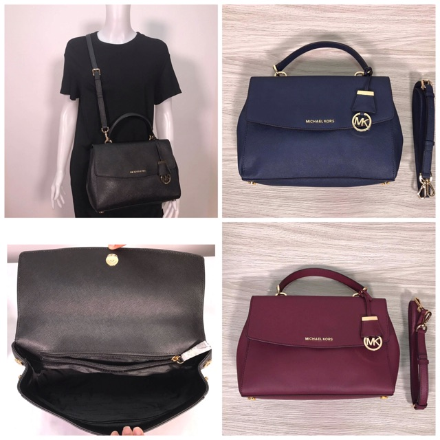 2222853f4a22c5 Michael Kors Large Mercer Leather Dome Satchel   Shopee Philippines