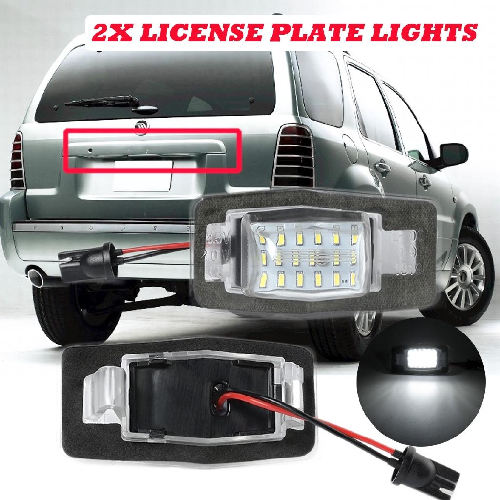 2x Led License Number Plate Lamp Light For Miata Mx 5 Mpv Nb Shopee Philippines