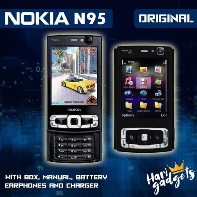 Nokia N95 8gb Original Vintage Phones