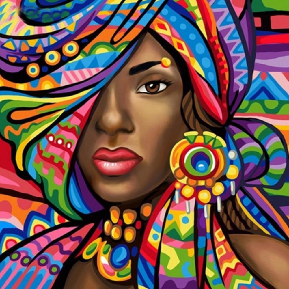 5D DIY Full Drill Diamond Painting Girl Embroidery Mosaic Craft Kits Decor Gift