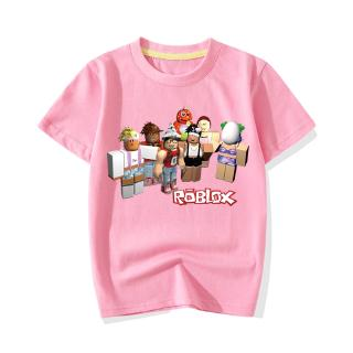 Details About 2019 Roblox Boys Girls Short Sleeve T Shirts Pure Cotton Tops Cartoon Clothes Uk Roblox Girls Short Sleeve T Shirt Cartoon Summer Clothing Shopee Philippines