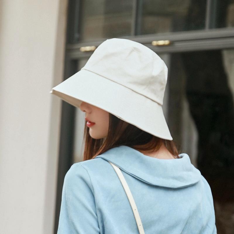 Fashion Women Bucket Hat Outdoor Beach sunhat Fisherman Hats   Shopee  Philippines
