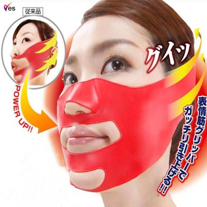 Cheek Slim Lift Up Anti Wrinkle Mask Ultra-thin V Face Line Belt Strap | Shopee Philippines