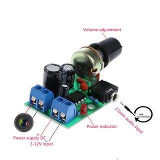 LM386 Mini Audio Power Amplifier Board DC 3V~12V 5V Module