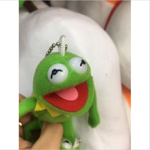 Muppets Kermit the Frog Plush Doll Toy keychain keyring pendant