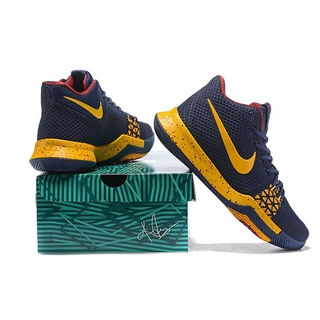 7db0dc1af95c Nike Kyrie Irving 3 III Navy Blue Yellow men shoes
