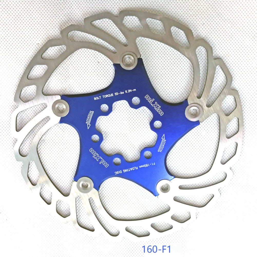 Details about  /MTB Brake Disc Gravel 140//160//180//203mm 6 bolts Hydraulic Disc Durable