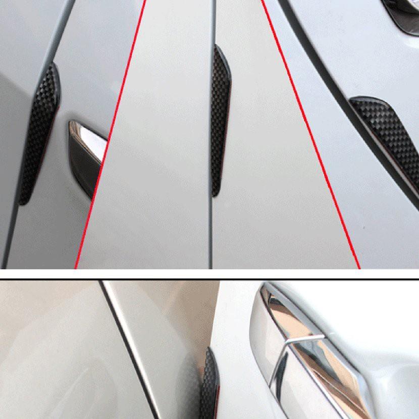 Car Accessories Door Edge Guard Strip Scratch Protector Anti Collision Trim Set