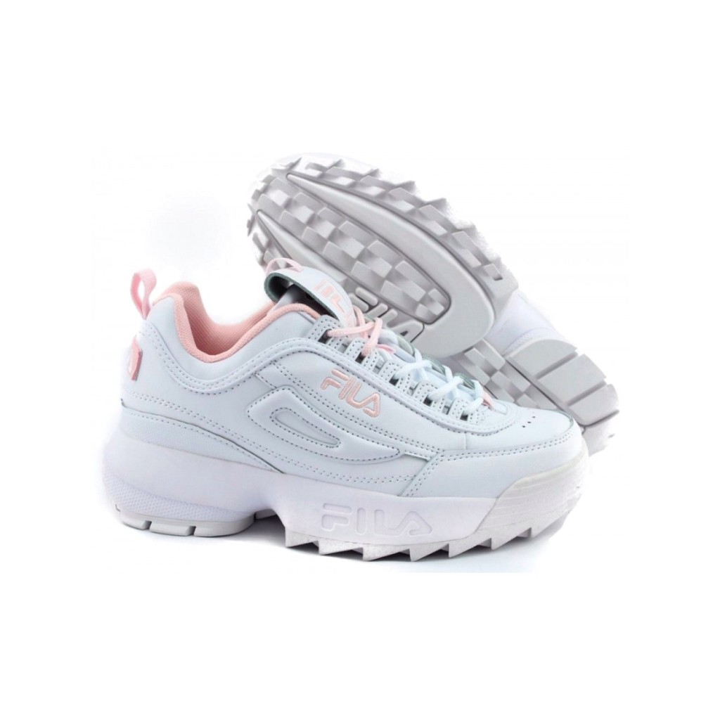 Details about FILA Pink Flamingo Shoes Disruptor 2 FS1HTB1074X FS1HTA1074X Sneakers Authentic