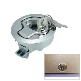 Flush Pull Slam Latch Hatch with Lock 1/2 Inch Door for RV
