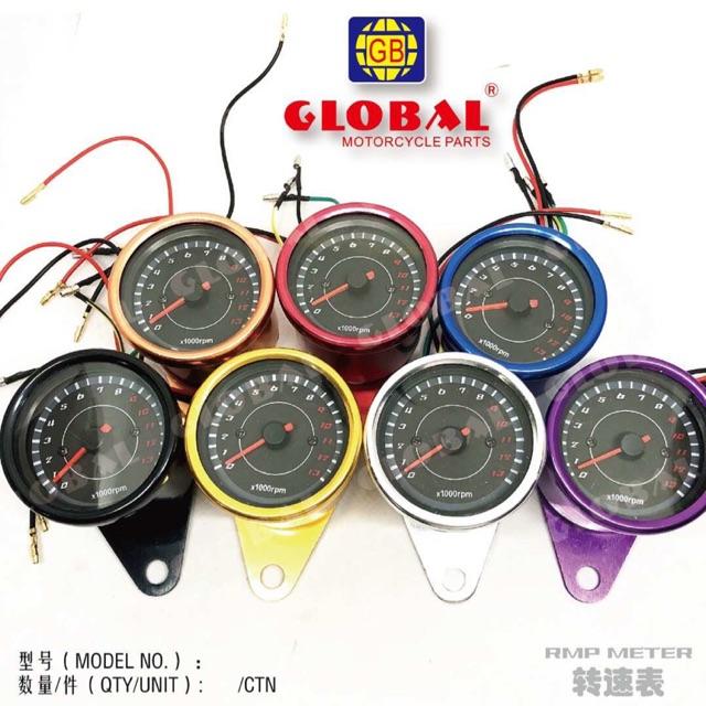 Motorcycle RPM meter gauge