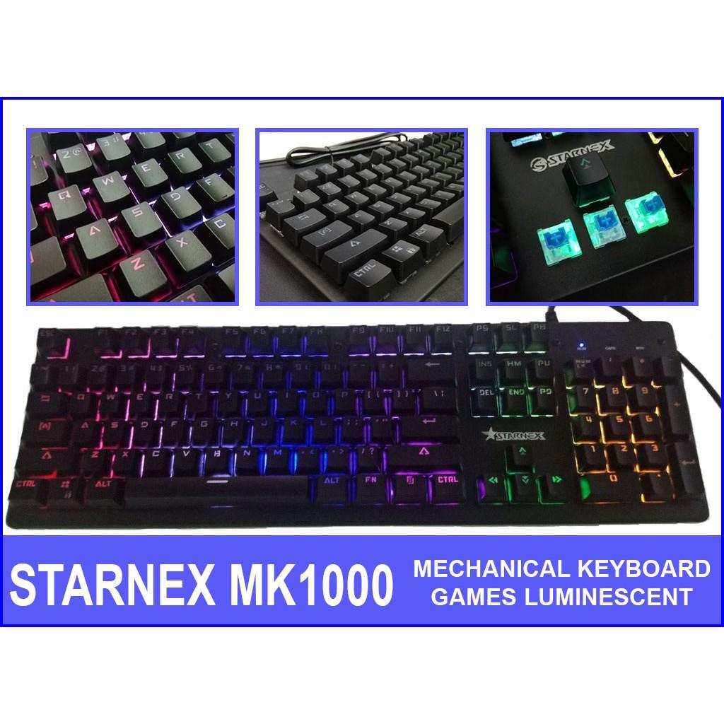 202b1c8d4ac Metoo Zero White keycaps blue switch mechanical keyboard | Shopee  Philippines