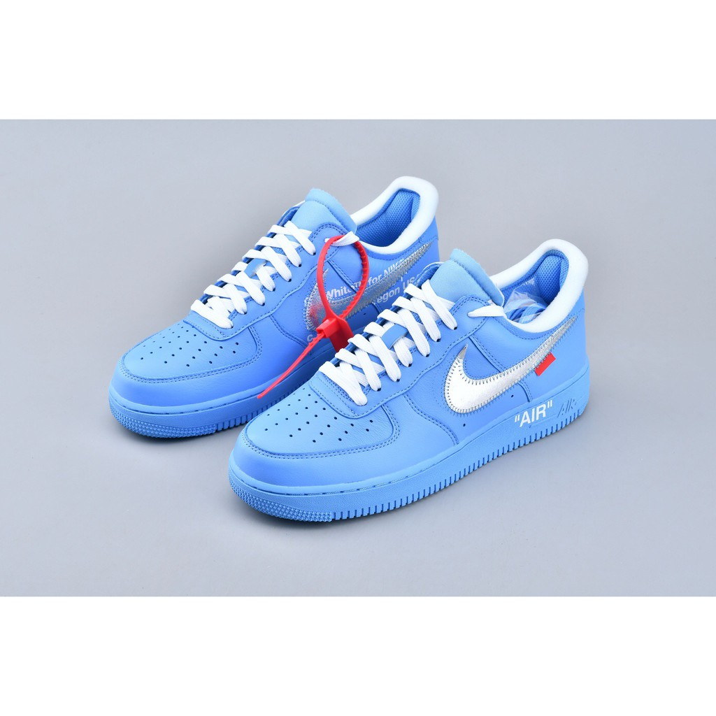 blue off white af1