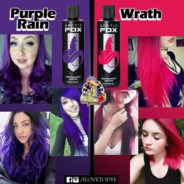 942e55f78b0322 Arctic Fox Purple Rain | Wrath (4 oz & 8 oz) | Shopee Philippines