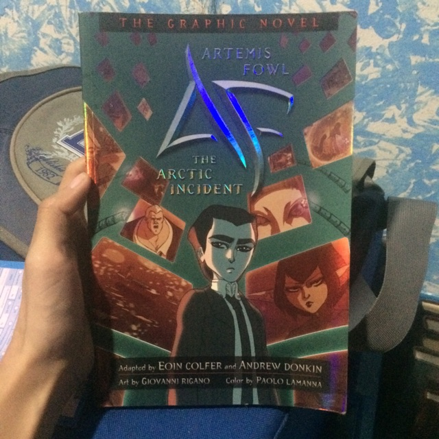 The Arctic Incident The Graphic Novel By Eoin Colfer