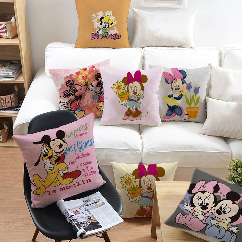 Toon Mickey Mouse Pillow Sofa Bed