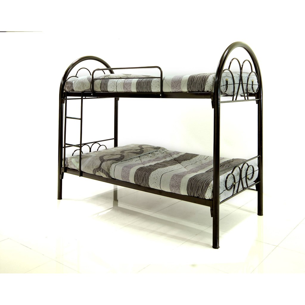 Cyprus Double Deck Metal Bed Frame | Shopee Philippines