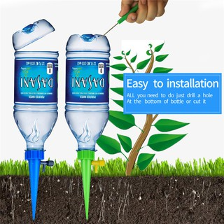 Diy Automatic Self Watering Seepage Moving Plant Waterer Bottles Lazy Flower Water Drip Irrigation