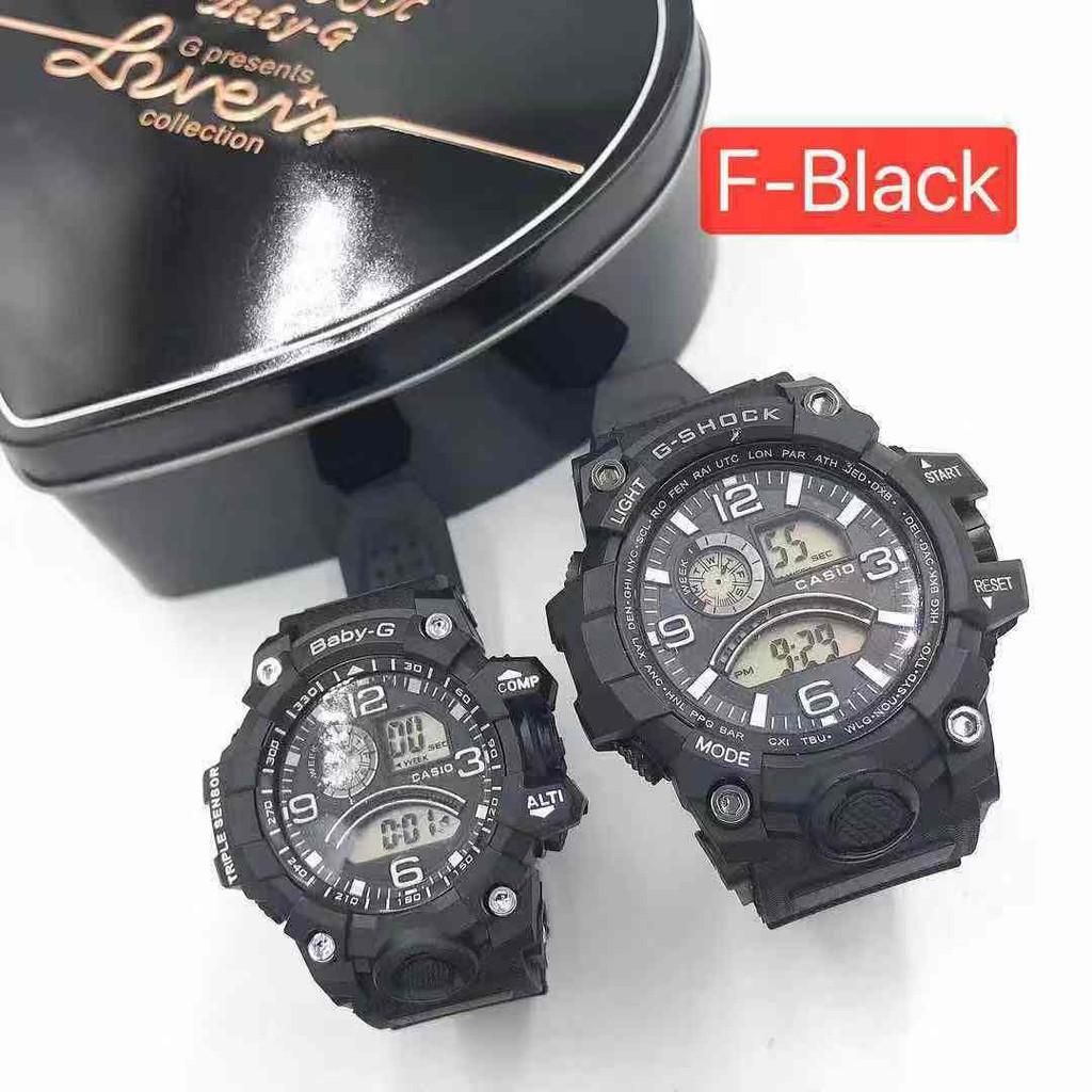 [Maii] Casio Couple Gshock Baby g shock water resist watches