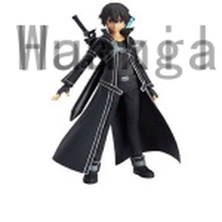 1pc Sword Art Online Asuna Figma 178 Kirito Figma 174 PVC Figure Set Gift