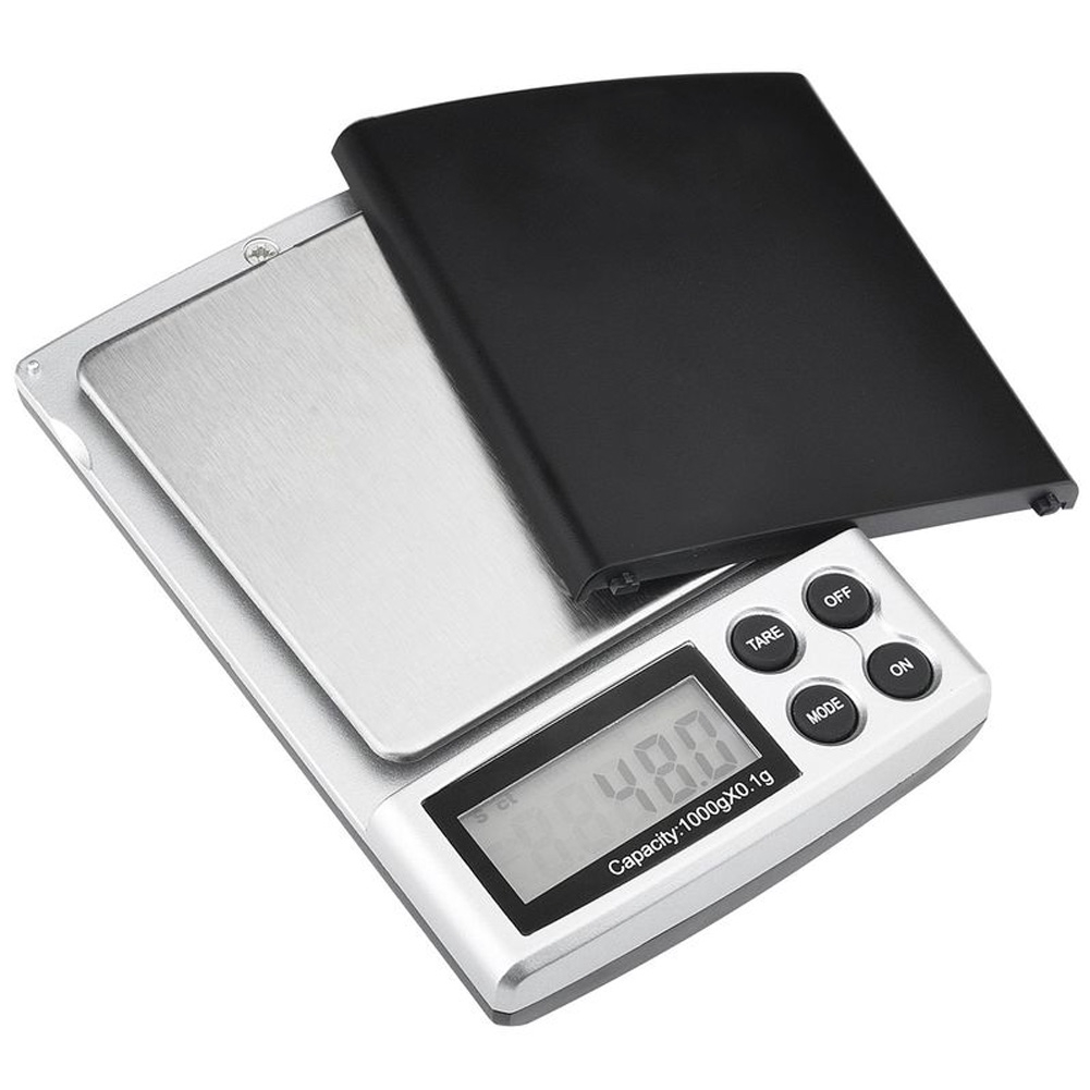 LCD High Precision Coin 1000g/0 1g Weight Scale Mini Jewelry