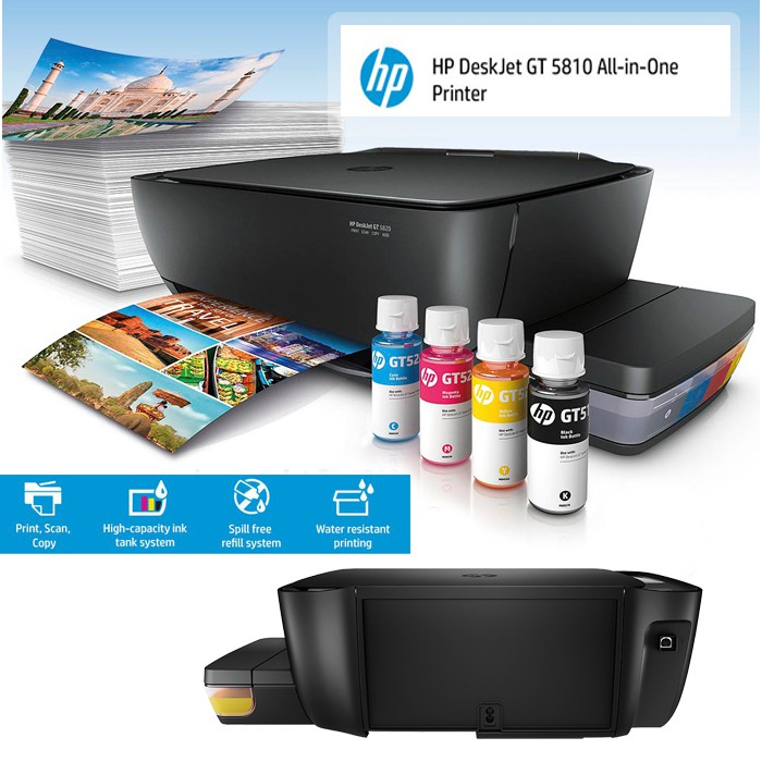 HP DeskJet GT 5810 All-in-One Printer (Ink Tank System)
