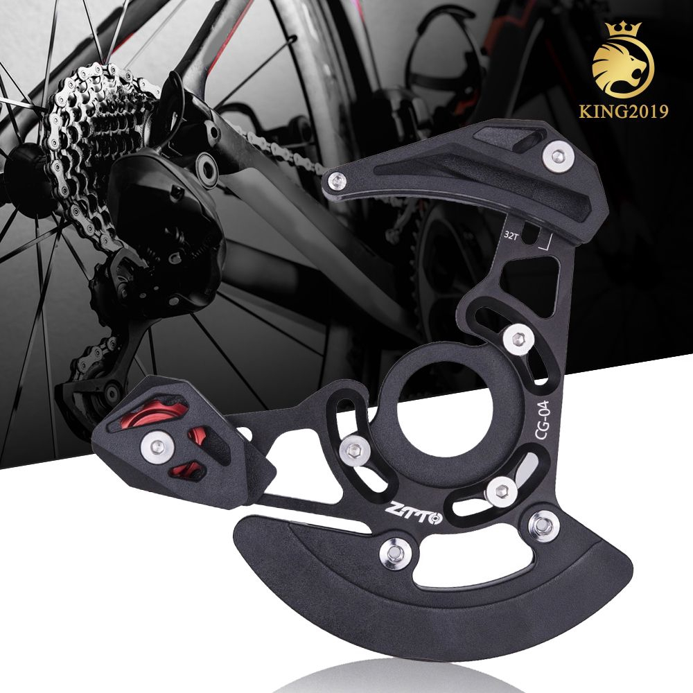 1 ZTTO Ultralight DH Chain Guide MTB Bike Bicycle AL Alloy Chain Guide 1X System