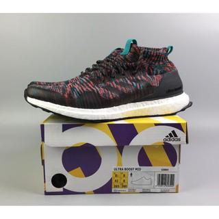 ?Zhuass?Adidas X Kith Ronnie Fieg Ultra Boost MID Rainbow Socks Shoes G26843