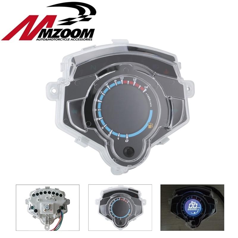 Screen Motorcycle Instrument LCD Digital Gauge Speedometer Tachometer  Odometer FOR Yamaha LC135