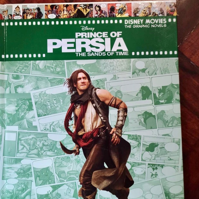 Book Sale Preloved Comics Prince Of Persia Sands Of Time Shopee Philippines
